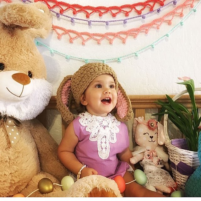 Happy Easter!! Photo Credit mauifabricdesign with her cutie girl wearinghellip