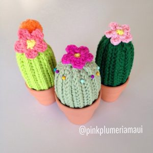 Crochet Cactus in a Pot