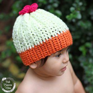 Baby Crocheted Cactus Beanie