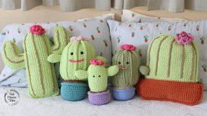 Primrose, Rosie, Baby, Cacus & Potted Plushy Cactuses.