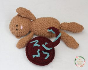 Pattern for Crocheted Baby, Placenta & Womb.