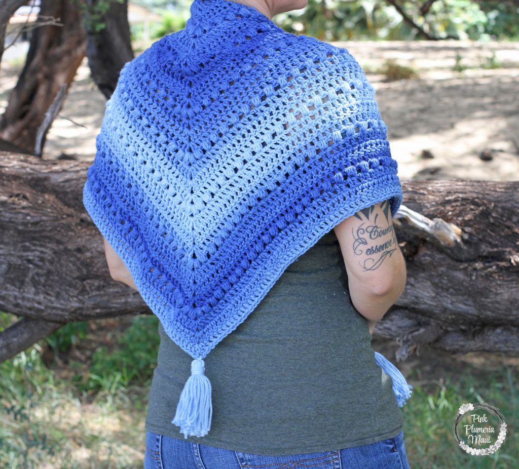 Crocheted Boho Shawl