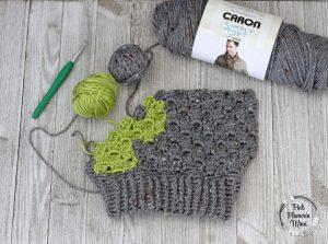 Progress Crocheted C2C Cactus Beanie