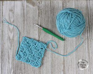 C2C Crochet Square