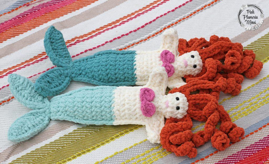 Crocheted Mermaid Friends