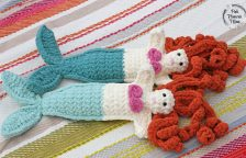 Crocheted Mermaid Friends
