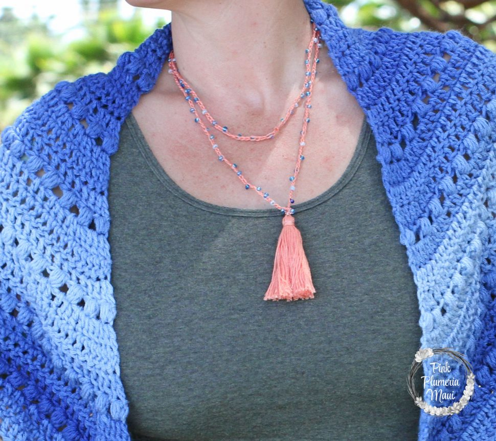 Example of Crocheted Necklace