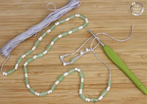 Crocheted Necklace 4